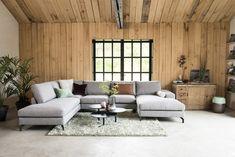 Montèl Monza Corner sofa U-bank Gray Interior, Best Interior, Living Room Interior, Living Room Decor, Bedroom Decor, Home Design Decor, Modern House Design, Interior Design Inspiration, Home Decor