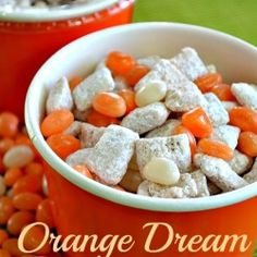 Orange Dream Puppy chow-would also go well in the orange you glad it's summer bag on give it away-mv