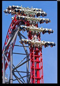 X2, Six Flags Magic Mountain California, seat spins