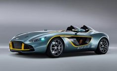 #Aston #Martin CC100 #Speedster #Concept  A #DBR1 for the 21st Century, this #roadster previews future Aston design cues.