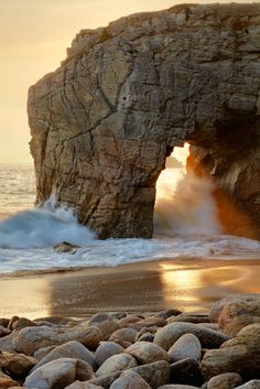 Peninsula of Quiberon - Brittany, France ( Estrada Snetselaar tour de Bretagne round :) ) Places Around The World, The Places Youll Go, Places To See, Around The Worlds, Dream Vacations, Vacation Spots, Vacation Rentals, Oregon Vacation, Beautiful World