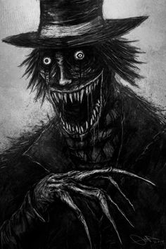 The Babadook Yo! Here's my illustration of the Babadook. Just hoped he would've shown up more in it. Anyway enjoy! Dark Fantasy, Fantasy Art, Arte Horror, Horror Art, Horror Drawing, Scary Movies, Horror Movies, The Babadook, Creepy Art