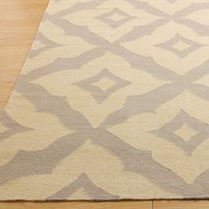 Moroccan Medallion Dhurrie:  stone beige and ivory (available late May) 8' x 11'  Shades of Light.com $769