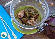 Cari lettori ecco un'altra ricetta in vaso cottura, i calamari e carciofi all'arancia. Dopo un pausa dalla vaso cottura, dedicata all'approfondimento delle