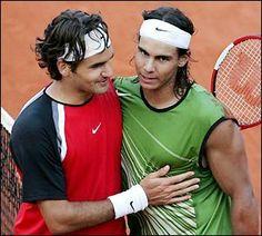 Federer v. Nadal - French Open final 2011
