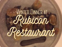 We recently decided to have a last minute dinner at one of our favourite fine dining restaurants in Canberra: Rubicon. Rubicon is a restaurant tucked away at the Griffith shops, near another favour…