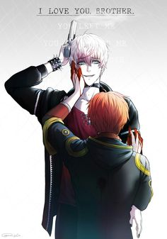 Mystic messenger - Bad ending 707 and Saeran (speedart)  The bad endings in the game kills my poor heart T_T