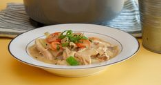 Hønsefrikassé Thai Red Curry, Soup, Ethnic Recipes, Alternative, Soups