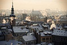 Christmas in Prague. #Prague #Praha #Prag #Прага #Praga #プラハ #布拉格 #Czech #Travel #Trip #Europe #Souvenir #WithHeartInPrague
