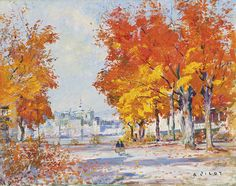 The Maples, Quebec from Levis / by Robert Wakeham Pilot