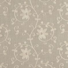 CLARK & CLARK Fabric  ~ Ashley - Linen ~