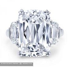 Martin Katz diamond engagement ring. #martinkatz #katz #weddingplanning #proposal #weddingideas #weddinginspiration #jewelry #bridal #bridaljewelry #diamond #engagementring #ring #engagement #luxuryweddings #graceormonde #weddingstyle