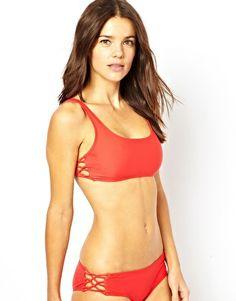 ASOS Lace Up Side Bikini