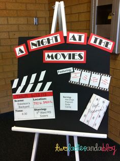 Two Ladies and a Blog: Relief Society Evening Meetings--a Night at the Movies