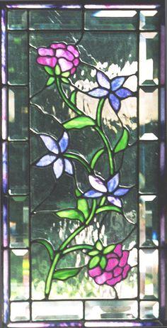 pretty stained glass window