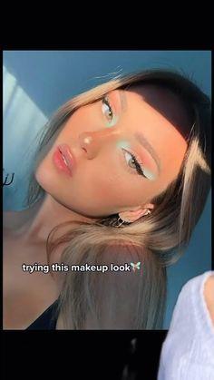 Cute Makeup Looks, Makeup Eye Looks, Creative Makeup Looks, Pretty Makeup, Simple Makeup, Natural Makeup, Light Makeup Looks, Amazing Makeup, Indie Makeup