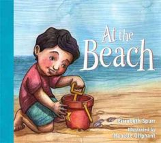 At the Beach During a day at the beach, a young boy digs in the sand and makes a sand birthday cake, then loses it to the waves. His mother distracts him with a picnic and he falls asleep at the end o