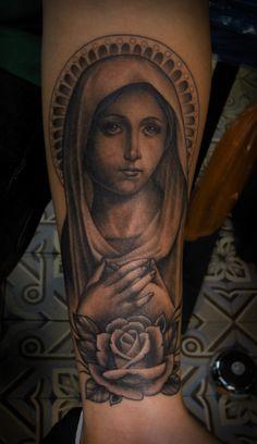 La Rosa De Guadalupe Tattoo