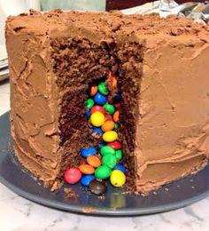 Smarties Cake On Pinterest Lolly Cake Halogen Oven