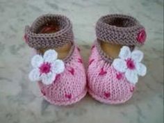 Hand Knitted Baby Booties/Shoes For Newb - Qoster