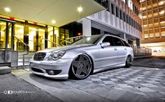 Mercedes-Benz S203 Wagon on K3Projekt 5SG Wheels | BENZTUNING | Performance and Style