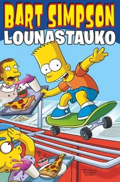 Bart Simpson: Out to Lunch (Simpsons) Matt Groening 0062115332 9780062115331 Bart Simpson: Out to Lunch (Simpsons) Simpsons Characters, Simpsons Art, Simpsons Funny, Comic Book Covers, Comic Books, Joker Comic, Out To Lunch, Futurama, Used Books