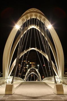 Yarra footbridge, Melbourne