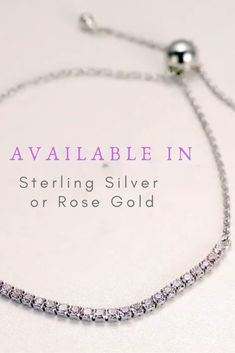 Braclets Gold, Sterling Silver Bracelets, Silver Roses, Rose Gold, Handmade Decorations, Handmade Shop, Types Of Fashion Styles, Or Rose, 925 Silver