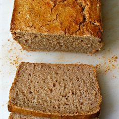 Buchweizenbrot für Brotbackautomat glutenfrei, laktosefrei