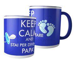Tazza panoramica Keep calm dad