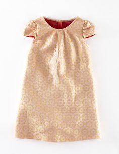 Brocade Party Dress w' embossed flower print - must have for the upcoming holiday season!
