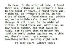 Discover and share Albert Camus Quotes. Explore our collection of motivational and famous quotes by authors you know and love. Great Quotes, Quotes To Live By, Me Quotes, Inspirational Quotes, Quotable Quotes, Daily Quotes, The Words, Cool Words, Pretty Words
