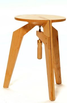 Clamped Stool by DIY Furniture