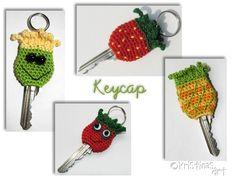 Häkelanleitungen - Häkelanleitung Key Cap *all in one* - ein Designerstück von KristinasArt bei DaWanda