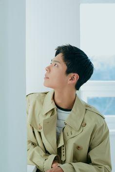 Kbs Drama, Park Bo Gum, Celebrity List, Korean Actors, Blue Bird, Military Jacket, Raincoat, Photoshoot, Celebrities
