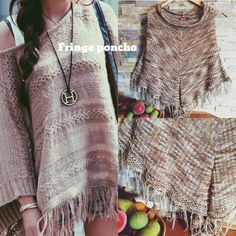 BOHO PONCHO✌️ Bohemian poncho✌️Tiny flaw~ little pull on bottom left. Great color! Material is cotton and rayon. Offers welcome no trades thank you Say what Sweaters Shrugs & Ponchos