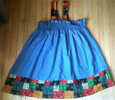 Patchwork Sundress Girls 5/6 by lishyloo on Etsy, $10.00