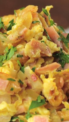 Revuelto Gramajo - Third Tutorial and Ideas Healthy Family Dinners, Easy Meals, Breakfast Recipes, Dinner Recipes, Healthy Chicken Dinner, Health Dinner, Easy Casserole Recipes, Easy Healthy Recipes, Food Dishes