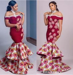2019 Ankara Fashion Styles: Most Popular & Stylishly Ankara Collections For Cute Ladies Ankara Short Gown Styles, African Dresses For Women, African Print Dresses, African Attire, African Wear, African Women, African Fashion Ankara, African Print Fashion, Africa Fashion
