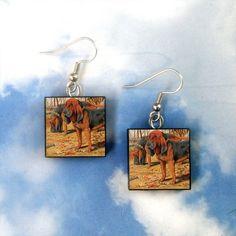 bloodhound earrings