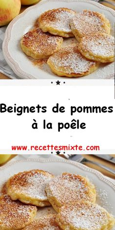 Aquí hay una receta ideal para probarla o celebrar el Mardi Gras, incluso si . Beignets, Desserts With Biscuits, Mini Desserts, Crockpot Recipes, Cooking Recipes, Chicken Recipes, Vegan Recipes, Healthy Breakfast Wraps, Cupcake Recipes