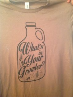 What's in your growler?  #brewershirts #homebrew #beer