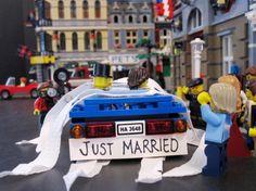 Just Married!  Wonderful #LEGO #Valentine  <3