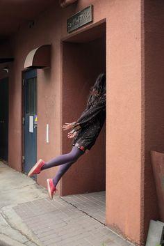 hayashi natsumi: levitation self portraits