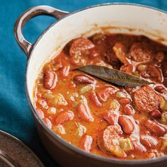 This spicy, Latin-inspired slow cooker bean stew calls for chorizo sausage, which puts a kick into this slow-cooker stew.