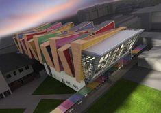 http://www.e-architect.co.uk/images/jpgs/london/phoenix_high_school_p230709.jpg #modernarchitectureschool