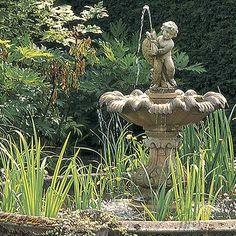 garden fountain water feature