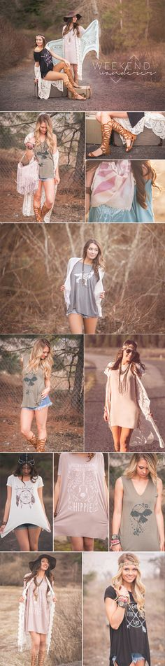 Spring 2016 Boho Styles and Bohemian Fashion. Shop these styles and more at www.nanamacs.com