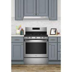 Remove smoke and odors from your kitchen with the help of this Whirlpool Non-Vented Range Hood in Stainless Steel. Easy to maintain. Kitchen Fan, Kitchen Cabinets, Kitchen Appliances, Kitchen Ideas, Kitchen Inspiration, Kitchen Designs, Range Vent, Oven Hood, Pizza