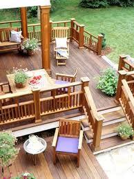 small backyard deck designs - Google Search